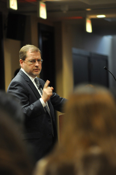 Grover Norquist talks about tax reform during the 2nd Obama term