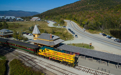 Conway Scenic Railroad and MWCR Foliage Trains 2017