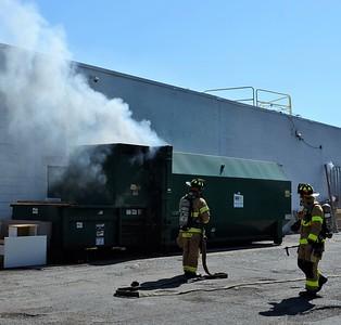 Compactor fire - Jefferson Road Henrietta, NY - 5/24/21