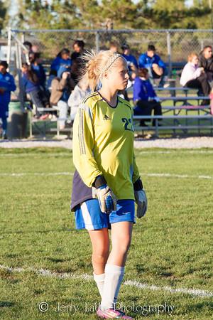 DHS Girls Soccer 09-24-2012