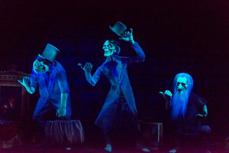 Haunted Mansion Hitchiking Ghosts - Magic Kingdom Walt Disney World
