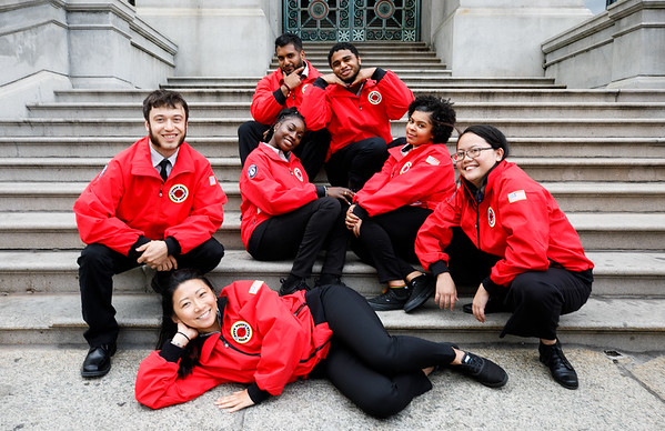 Team Photos, City Year Providence Opening Day 2019