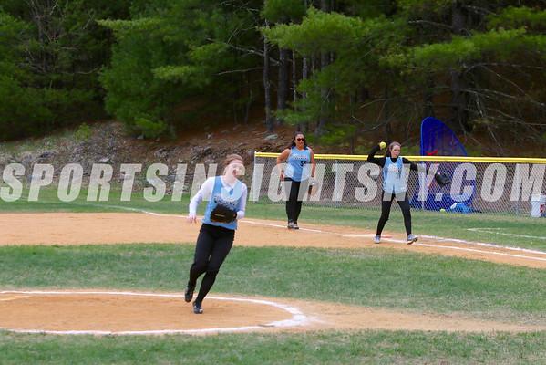 Eldred vs Sullivan West softball
