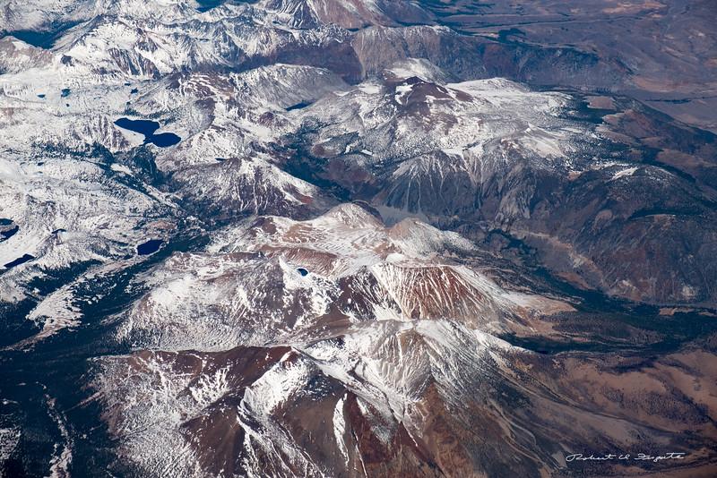 Sierra Nevada Mountains in California.