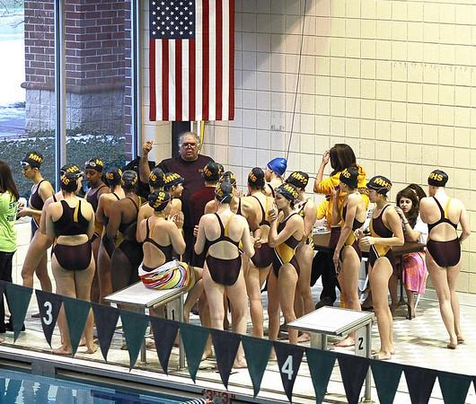 Madison Swim Team at Drew, 1-6-10