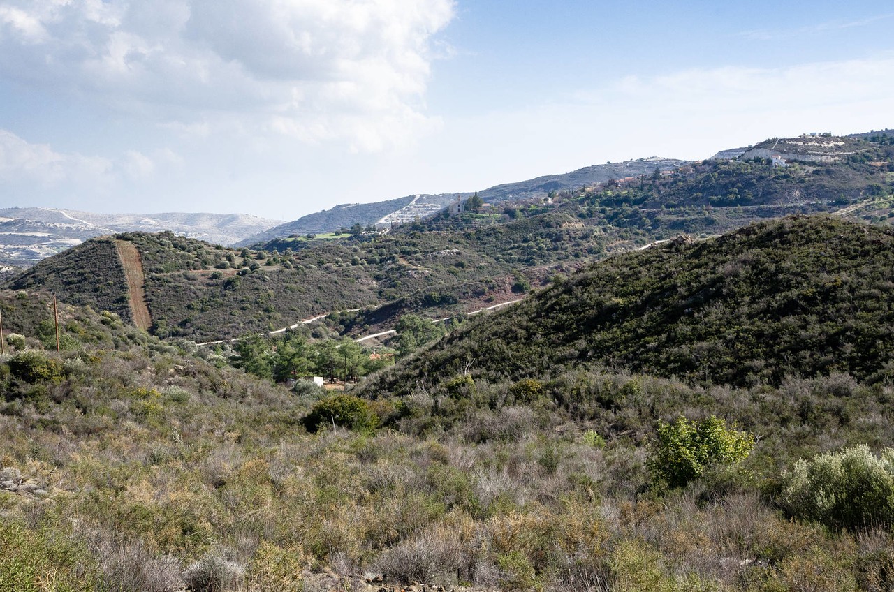 The hills of Vavla, Cyprus