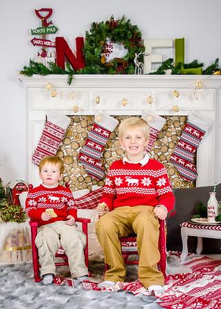 Condon boys- Christmas Mini- Session