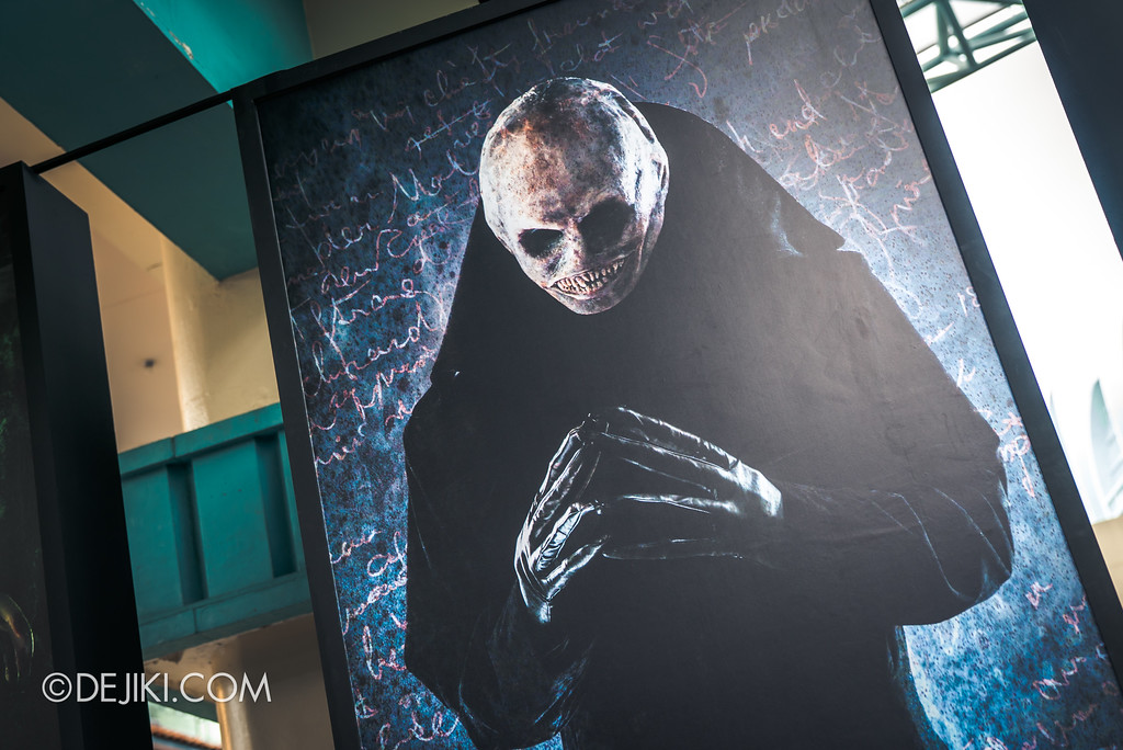 Halloween Horror Nights 7 Preview Construction Update Before Dark 3 - Character Wall, Obsession Sin / Killer