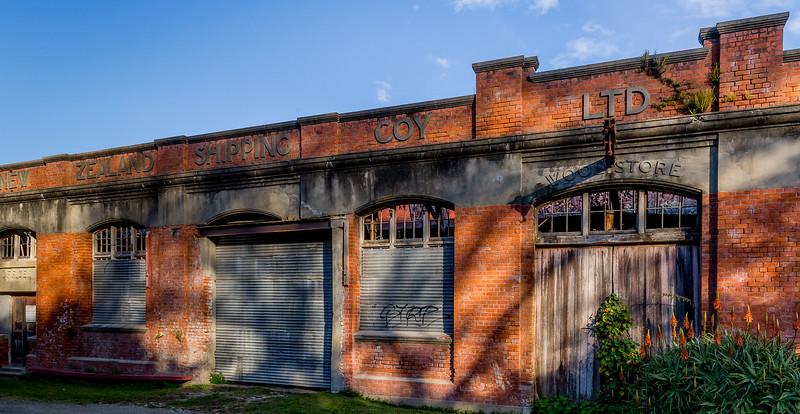 Ruine in Tokomaru, «New Zealand Shipping Company»