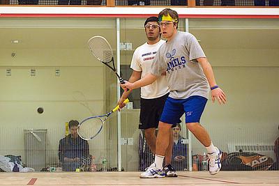 2010-01-24 Blay Bradley (Conn) and Saahil Sud (Amherst)