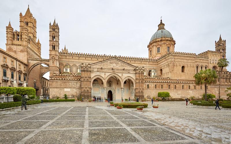 Cathédrale de Palerme, Sicile, Italie