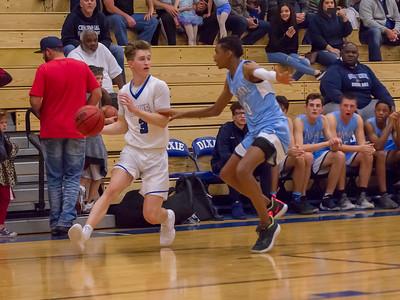 2018-12-07 Dixie HS Basketball vs Centennial