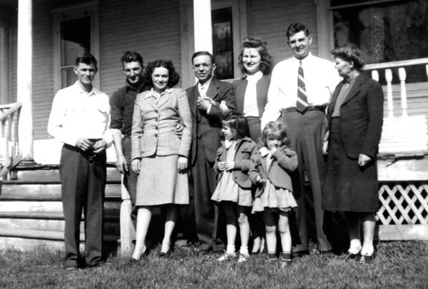 Family of Glenn and Fannie Phillips