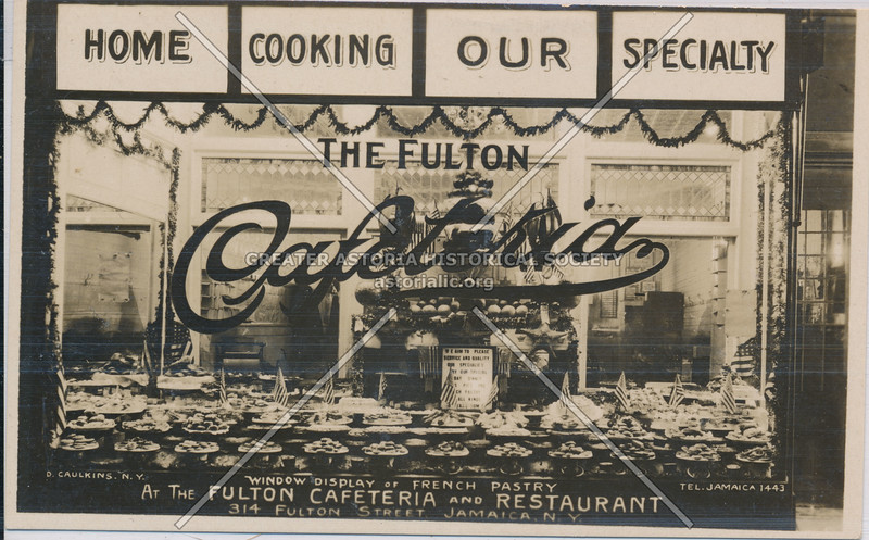 Fulton Cafeteria, Jamaica