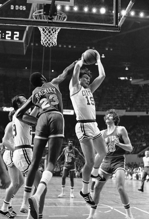 . 17. Don Nelson, grabbing the rebound (AP Photo)