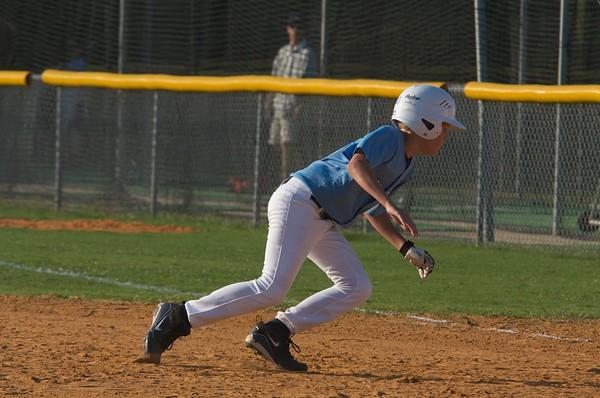 U12 Baseball District Playoffs Jax Beach vs Ft Caroline 6-24-09