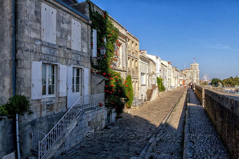 Rue sur les Murs, La Rochelle