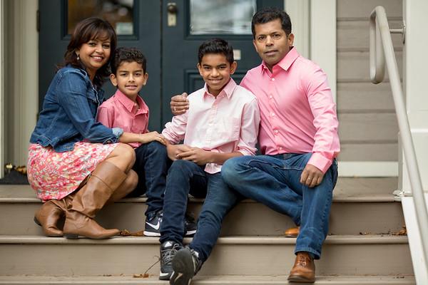 Saxena Family