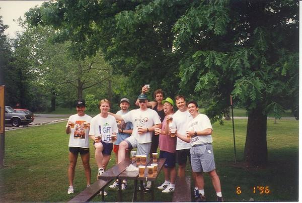 Kickapoo Trial Trail XC Run and Annual Male Bonding Camping Trip