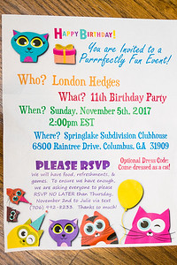 2017 11 05 London Hedges 11th Birthday