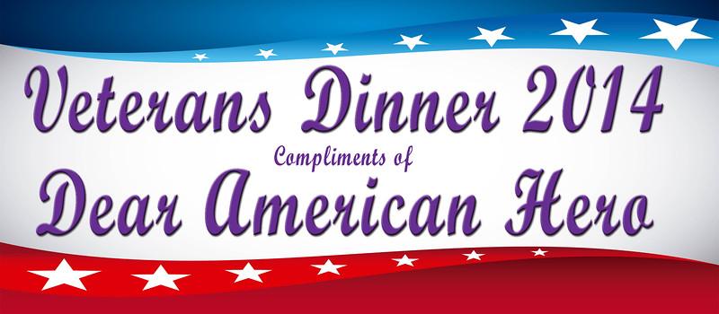 Veterans Dinner 2014