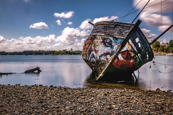 Ships Graveyards  Brittany