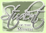 Stuent of the Month
