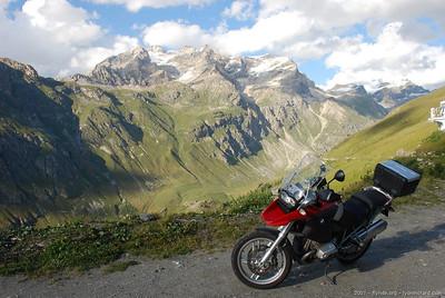 Balade dans les Alpes, août 2007