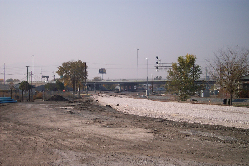 New FrontRunner tracks, October 29, 2007. (Don Strack Photo)