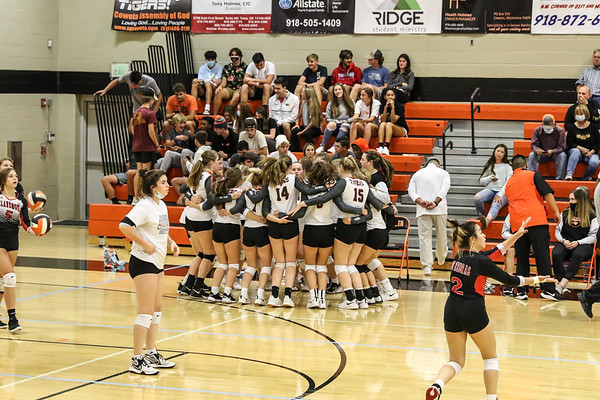 Coweta Tigers Volleyball Regional Champs 2020 #1