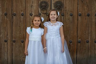 Haddi and Emily baptism photos