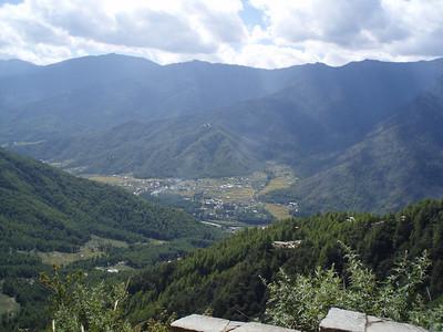 Outside Thimphu