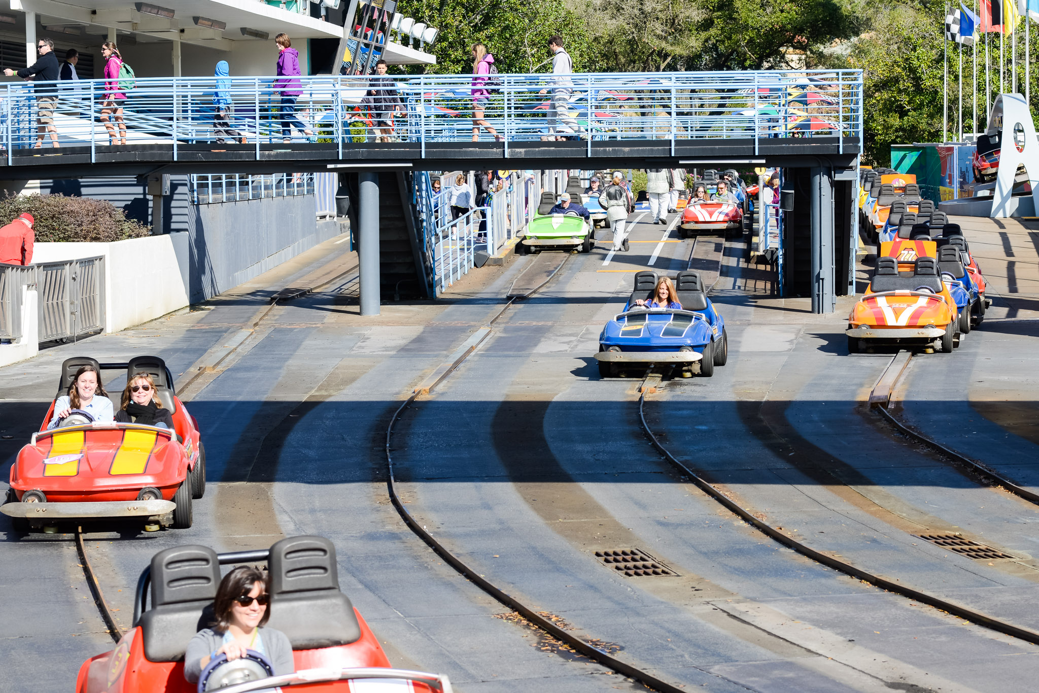Tomorrowland Speedway - Walt Disney World Magic Kingdom