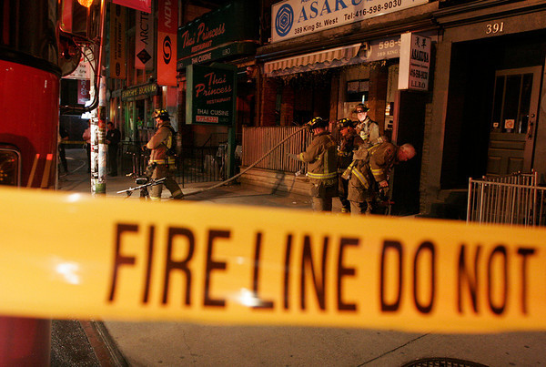 May 25, 2008 - Working Fire - King St W / Charlotte Street
