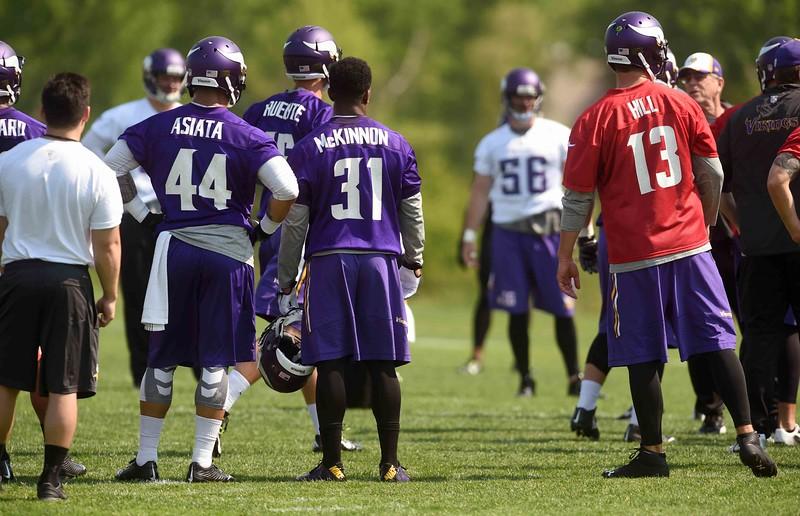 cst 4921 Vikings practice