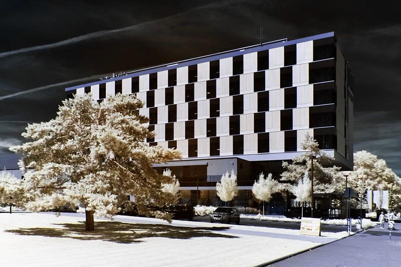 NH Hoteles v infračerveném