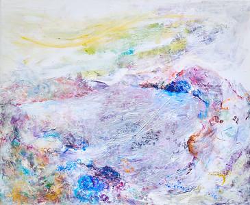 """Home 4"" (acrylic on canvas) by Serena May Yin Ho"