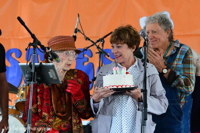 Pauline Anglemann, 110 years Birthaday
