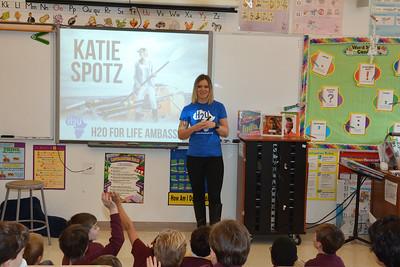 H2O for Life Ambassador Katie Spotz