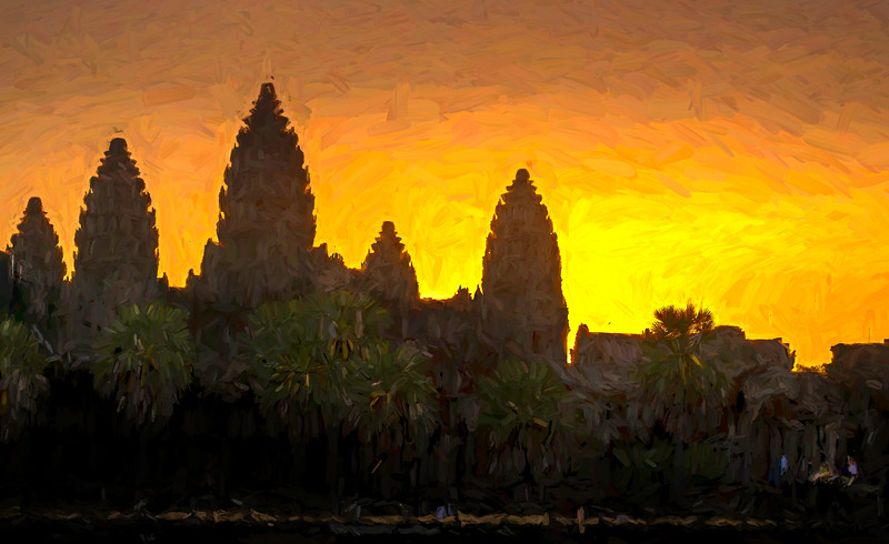 Sunrise in Angkor