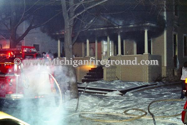 12/27/78 - Kalamazoo house fire, 839 Fulton St