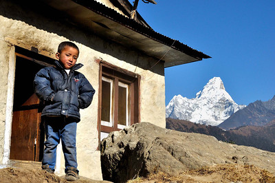 Faces of the Khumbu Himal
