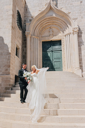 Abigail & Oliver, Dubrovnik, Croatia