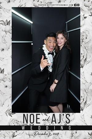 Noe & AJ's Wedding (Vogue Booth)
