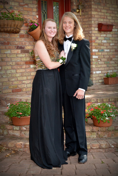 Hayley and Blake - 2014 LHHS Prom