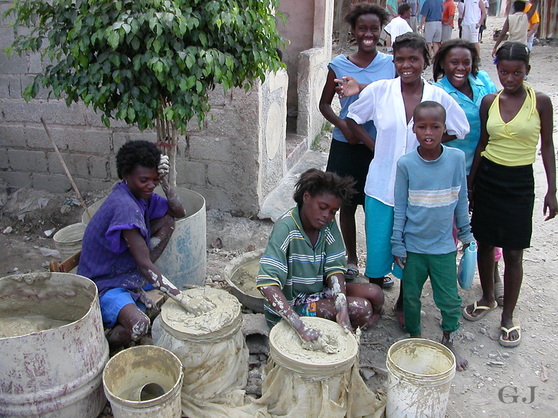 father son mission trip to haiti with jay in 2003