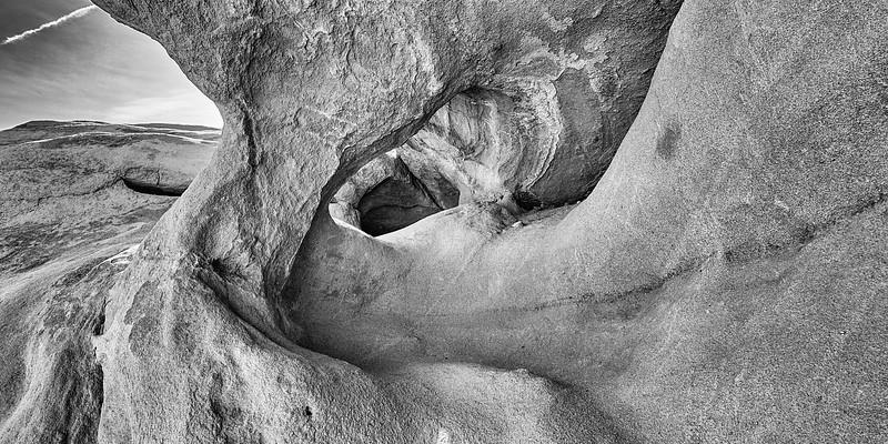 Rock formation in Anza Borrego Desert State Park
