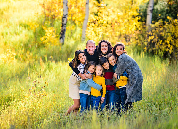 Ohana Family fall pictures
