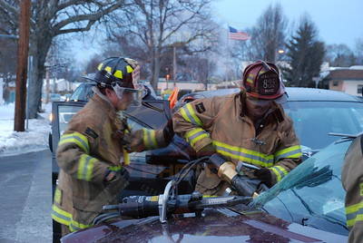 Babylon F.D. MVA w/ Entrapment and Medevac Deer Park Ave. and Hinton Ave. 2/13/10