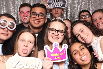 Jennifer's Sweet 16 4-21-18